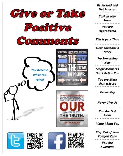 Positive Comments Poster